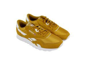 Reebok Classics Nylon M Wild Khaki White Mens Athletic Running Shoes 30e59cf0b