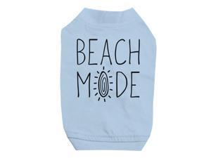 52e3c9b4 365 Printing Beach Mode Sky Blue Pet Shirt for Small Dogs Hilarious Quote  Shirt