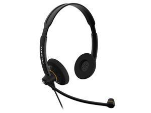 Sennheiser SC60 USB Binaural Headset for Microsoft Lync, Black