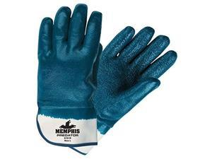 Memphis Glove 9761r Predator Fully Coated Nitrile On Jersey L