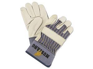 Memphis Glove 1935l Mustang Grain Leather Palm Gloves W/2-