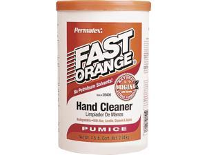 Permatex Fast Orange Biodegradable Waterless Hand Cleaner, 4-1/2 lb, Plastic Tub, White