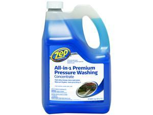 All-In-One ZUPPWC160 All-in-1 Premium Concentrated Pressure Washer Cleaner, 1.35 gal, Light Blue, Liquid, Characteristic