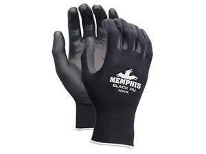 Memphis Glove 9669l Black Nylon Black Pu 13ga