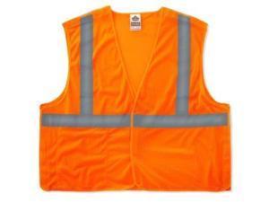 Ergodyne 21067 Glowear Cls 2 Std Breakaway Vest 2xl/3xl Orange