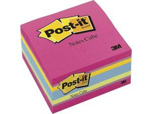 Post-It Notes Original Cubes, 3 X 3, Aqua Wave, 400-Sheet 2027RCR