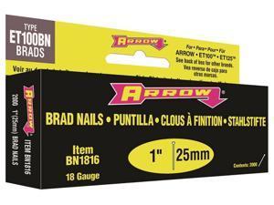 "Arrow Fastener 1"" Brown Brad BN1816BCS"
