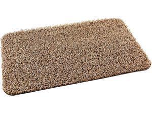GrassWorx Clean Machine Classic Taupe 17.5 In. x 29.5 In. AstroTurf Door Mat