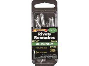 Arrow 3/16 In. x 1/2 In. Aluminum Rivet (12 Count) RLA3/16