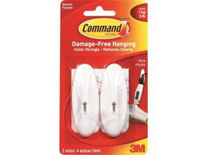 COMMAND MED WIRE HOOKS 17068ES-2PK