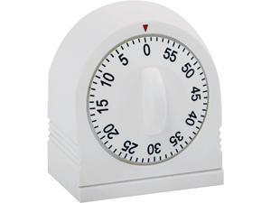 WHT 60MINUTE SINGLE-RING TIMER NORPRO, INC. White 1470 028901014704