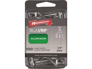 Arrow RLA1/8IP Long Pop Rivet 1/2 in L Aluminum