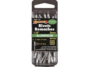 Arrow 1/8 In. x 1/8 In. Aluminum Rivet (25 Count) RSA1/8
