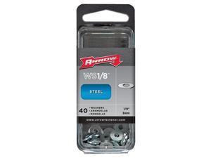 Arrow 1/8 In. Steel Rivet Washer (40-Pack) WS1/8