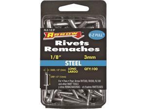 Arrow RLS1/8IP Long Pop Rivet 1/2 in L Steel