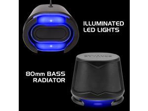 Enhance SB2 2.0 High Excursion Computer Speakers with LED Lights