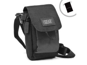 USA Gear Bushnell Rangefinder Holster Case Bag with Shoulder Strap & Belt Loop - Fits Scout DX 1000 ARC , The Truth with Clearshot , Sport 850 , G-Force DX ARC , Trophy Xtreme , and More