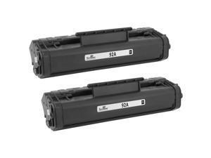 4pk C4092A Blk Laser Printer Toner Cartridge for HP 92A