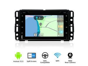2020 Newest Car GPS Navigation Double Din Car Stereo, 2G RAM 32G ROM Android 10 Car Radio DVD for Chevy/Chevrolet Silverado 7 Inch Car Multimedia Radio Support Split Screen WiFi BT Free Backup Camera
