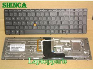 ORIGINAL Backlit US Keyboad For HP Elitebook 8560w 8570W Series Laptop