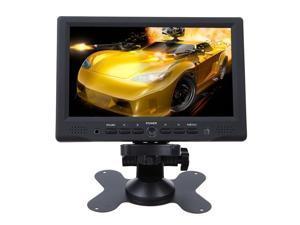 Revolity  Portable 7 Inch HD HDMI 1080p AV VGA LCD Monitor For Car DSLR & PC & DVD & Car Backup Camera