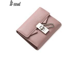 549e3a24cef6 short leather wallet female hasp purse money bag card holder purse high  quality pu ladies wallet C2275/MM