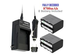 Globalsaving Power Supply AC Adapter Cord Cable Charger for Sony miniDV Handycam Camcorder DCR-VX9 DCR-VX2100 DCR-VX2100E DCR-TR7000 HDR-HC1 HDR-FX1000 HDR-FX1000E CCD-TRV36 CCD-TRV41