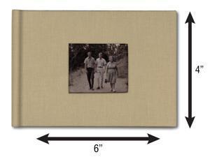 Bellagio-Italia Canvas Photo Album - Memory Scrap Book and Polariod Book - Small