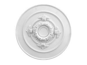 Ceiling Medallion White Urethane 17 Diameter | Renovators Supply