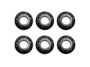 6 Radiator Flange Black Aluminum Escutcheon 1 1/4'' ID   Renovator's Supply