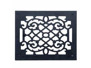 "4 Heat Register Floor Vent Grate Cast Aluminum  9.5"" x 11 3/8   Renovator's Supply"