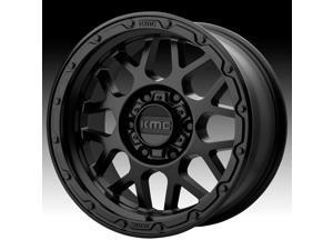 KMC KM535 Grenade Off-Road Matte Black 17x8.5 8x170 0mm (KM53578587700)