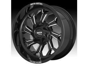 Moto Metal MO999 Reaper Gloss Black Milled 20x10 8x165.1 -18mm (MO99921080318N)