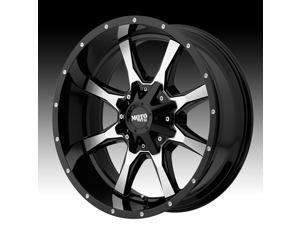 Moto Metal MO970 Gloss Black Machined 18x10 6x135 / 6x139.7 -24mm (MO97081067324NUS)
