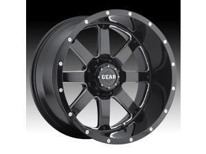 Gear Off Road 726MB Big Block Gloss Black Milled 20x10 5x139.7 / 5x150   -19mm (726MB-2105219)