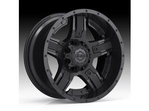 Gear Off Road 740B Manifold Satin Black 18x9 5x139.7 / 5x150 18mm (740B-8905218)