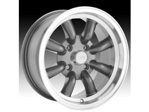 0 Graphite Wheel One 15x7 Konig Rewind 4x114.3