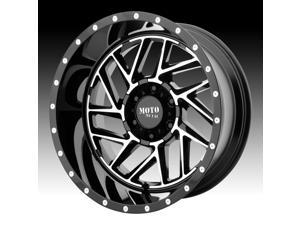 Moto Metal MO985 Breakout Machined Black 16x8 6x120 -6mm (MO98568077306N)