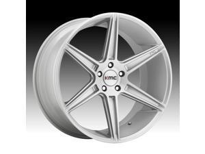 KMC KM711 Prism Brushed Silver 20x10.5 5x114.3 45mm (KM71120512445)