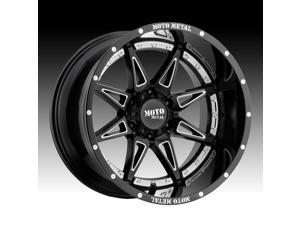 Moto Metal MO993 Hydra Gloss Black Milled 20x12 8x170 -44mm (MO99321287344N)