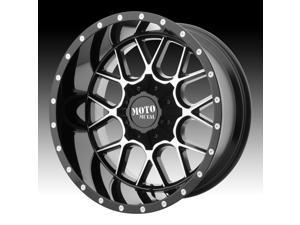 Moto Metal MO986 Siege Machined Black 22x12 8x170 -44mm (MO98622287344N)