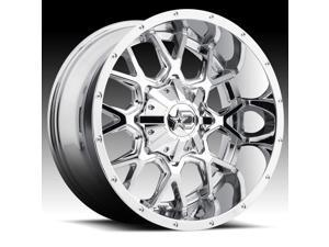 "20"" Inch Dropstars 645V 20x10 6x135/6x5.5"" -19mm PVD Chrome Wheel Rim"