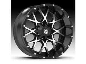 "18"" Inch Dropstars 645MB 18x9 6x135/6x5.5"" +18mm Black/Machined Wheel Rim"