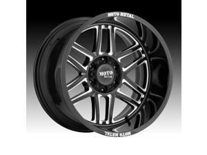 Moto Metal MO992 Folsom Gloss Black Milled 22x10 8x170 -18mm (MO99222087318N)