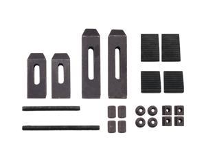 """Erie Tools 24 Piece Clamping Kit For Small Milling Machines With .305"""" (7.75 mm) Table Slots"""
