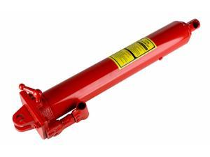 Dragway Tools 12 Ton Hydraulic Ram for Shop Crane, Engine Hoist, Cherry Picker Jack Lift