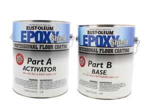 EXOPYSHIELD™ Floor Coating Kit,2 gal,Silver Gray RUST-OLEUM 203373