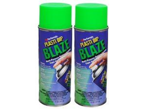 Plasti Dip Performix 2 Pack Blaze Green 11224 Mulit-Purpose Rubber Coating 11oz