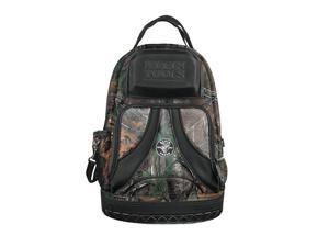 Klein Tools - 55421BP14CAMO - Polyester, General Purpose, Tool Backpack, Number of Pockets 39, 20 Overall Height