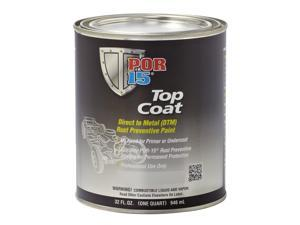 POR-15 46104 Top Coat, Safety Red, 1 qt.